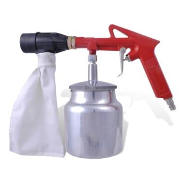 Air Sand Blasting Kit 3 Bottles & 4 Nozzles[3/4]