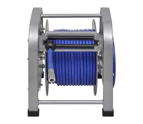 "Automatic Air Hose Reel Retractable 98' 5""[3/6]"