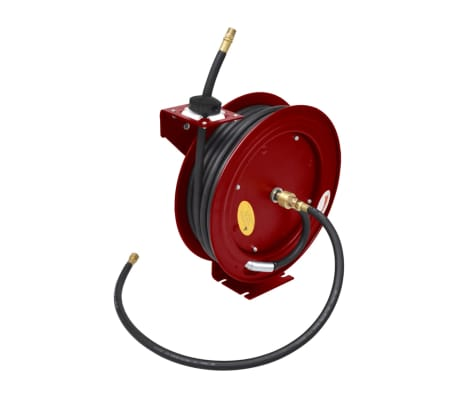 Air Hose Reel Retractable 49' Wall-mounted[1/6]