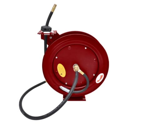 Air Hose Reel Retractable 49' Wall-mounted[6/6]