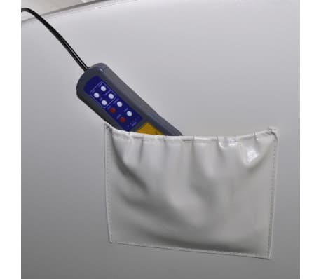 vidaXL Electric Massage Chair with Remote Control White[4/4]