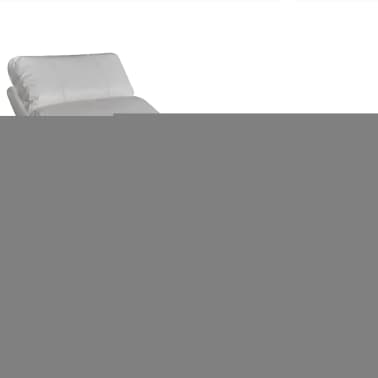 vidaXL Electric Massage Chair with Remote Control White[3/4]