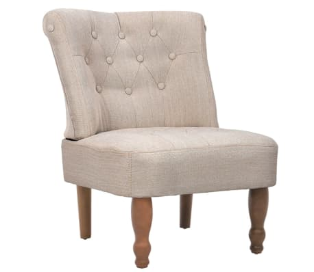Cream French Chair High Quality Fabric[2/6]