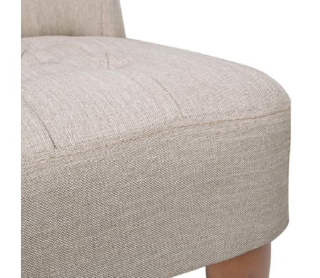 Cream French Chair High Quality Fabric[6/6]