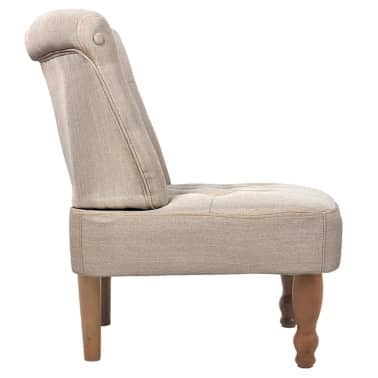 Cream French Chair High Quality Fabric[4/6]