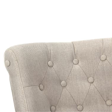 Cream French Chair High Quality Fabric[5/6]