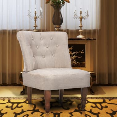 Cream French Chair High Quality Fabric[1/6]