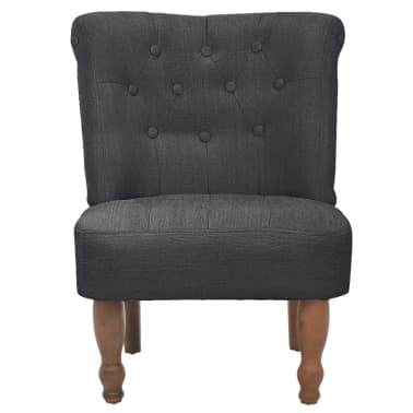 Gray French Chair High Quality Fabric[3/6]
