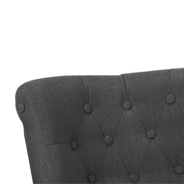 Gray French Chair High Quality Fabric[5/6]
