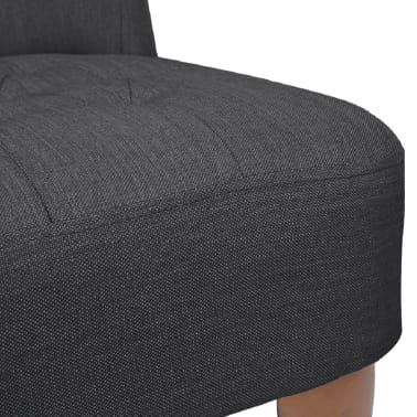 Gray French Chair High Quality Fabric[6/6]