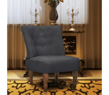 Gray French Chair High Quality Fabric[1/6]