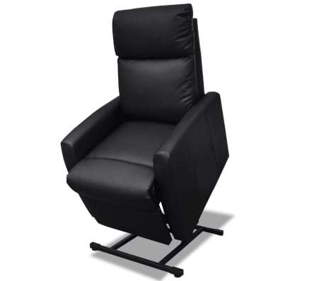 2-Position Electric TV Recliner Lift Chair Black[1/9]