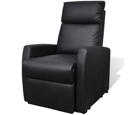 2-Position Electric TV Recliner Lift Chair Black[2/9]