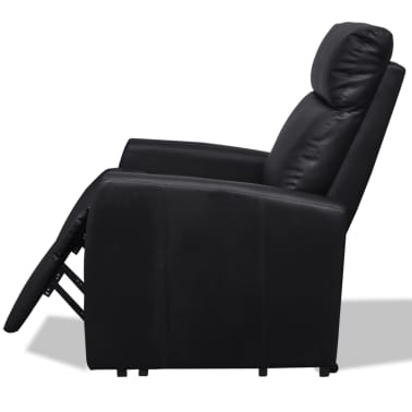 2-Position Electric TV Recliner Lift Chair Black[5/9]