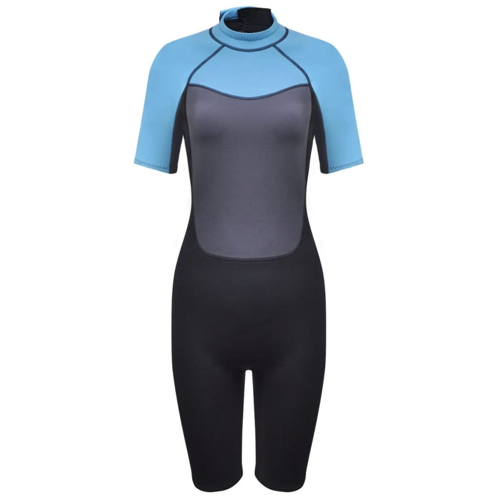 vidaXL Costum scurt sport acvatic femei lung L 165 - 170 cm 2,5 mm imagine vidaxl.ro
