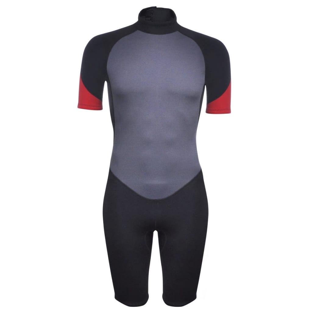 vidaXL Costum bărbătesc scurt sporturi acvatice L 175 - 180 cm 2,5 mm poza 2021 vidaXL