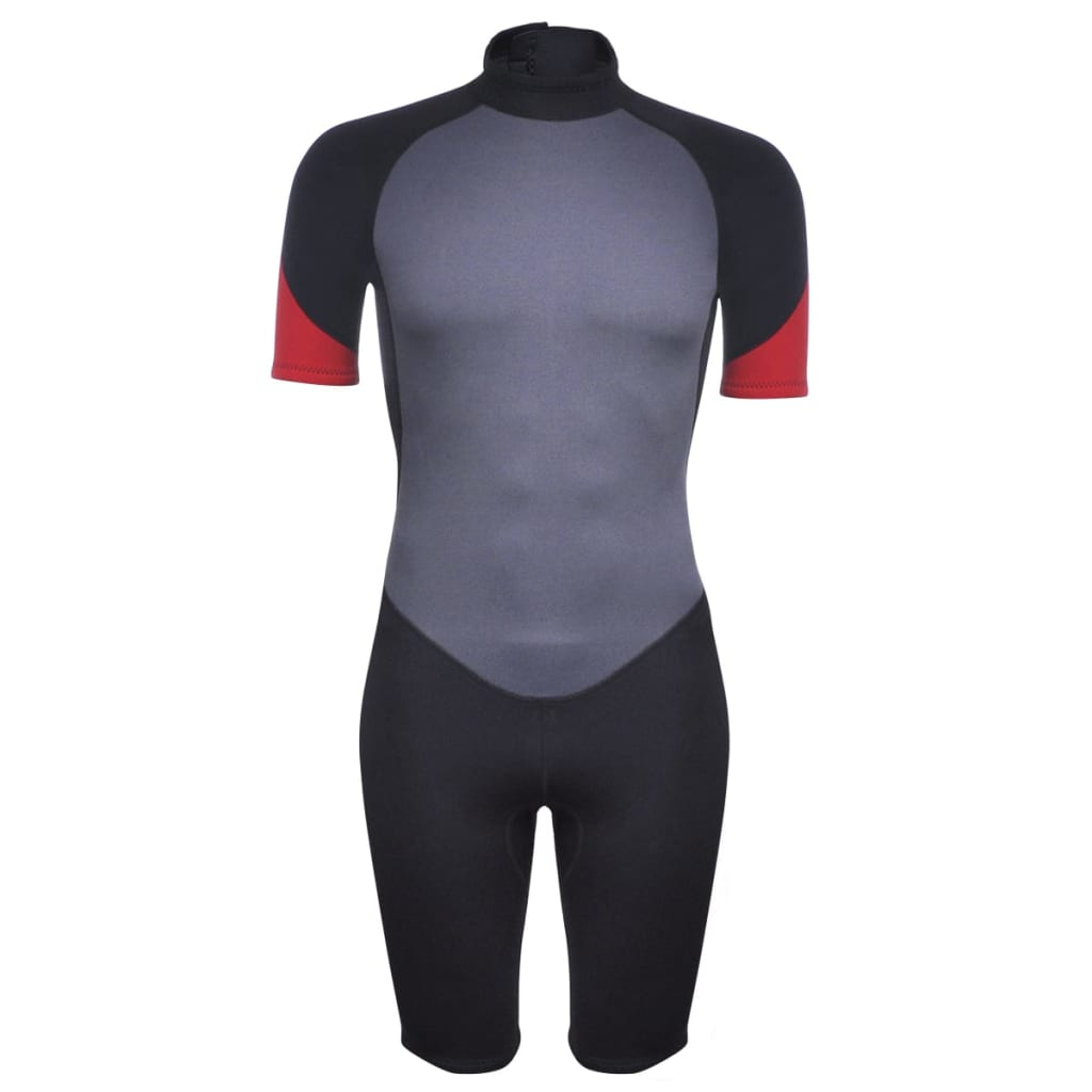 vidaXL Costum bărbătesc scurt sporturi acvatice XL 180 - 185 cm 2,5 mm imagine vidaxl.ro