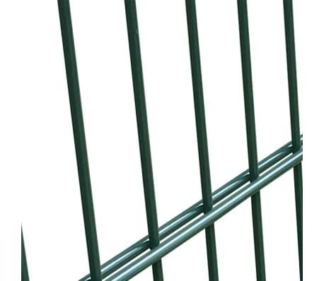 2D Bramka ogrodowa pojedyncza Zielona 106 x 130 cm[5/5]