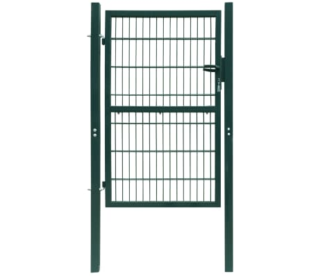 2D Fence Gate (Single) Green 106 x 170 cm