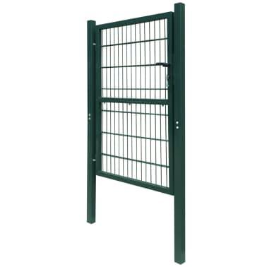 2D Kiemo Vartai (Vienvėriai), Žali, 106 x 170 cm[3/6]