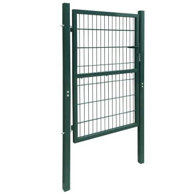 2D Kiemo Vartai (Vienvėriai), Žali, 106 x 190 cm[2/6]