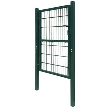 2D Kiemo Vartai (Vienvėriai), Žali, 106 x 190 cm[3/6]