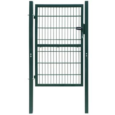 2D Kiemo Vartai (Vienvėriai), Žali, 106 x 210 cm[1/6]