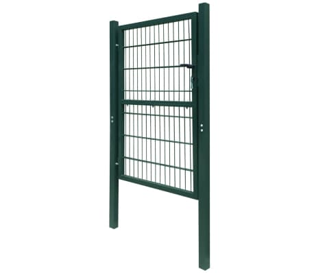 2D Kiemo Vartai (Vienvėriai), Žali, 106 x 210 cm[3/6]