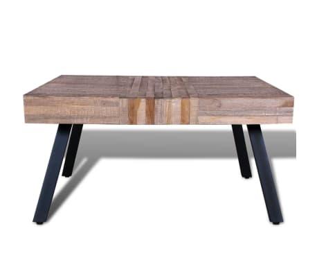vidaxl couchtisch quadratisch recyceltes holz teak g nstig kaufen. Black Bedroom Furniture Sets. Home Design Ideas