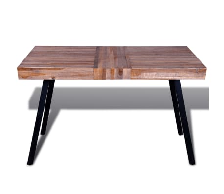 vidaXL Table Teck recyclé[6/8]