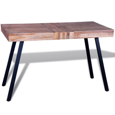 vidaXL Table Teck recyclé[4/8]