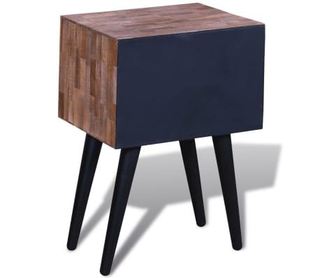 vidaXL Side Cabinet with 2 Drawers Reclaimed Teak Wood[6/9]