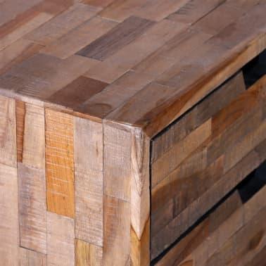 vidaXL Side Cabinet with 2 Drawers Reclaimed Teak Wood[8/9]