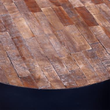 vidaXL Žurnalinis staliukas, perdirbta tikmedžio mediena[5/6]