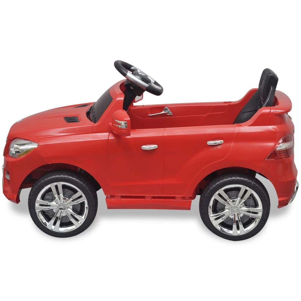 Electrické dětské auto Mercedes Benz ML350 Red 6 V, dálkové ovládání