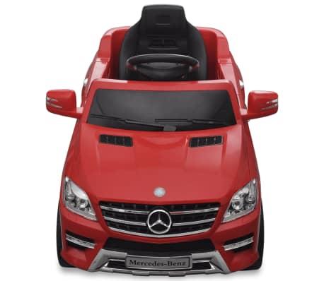 Voiture électrique 6 V avec télécommande Mercedes Benz ML350 rouge[2/7]
