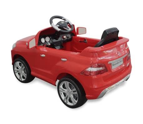 vidaXL Voiture électrique pour enfants Mercedes Benz ML350 Rouge 6 V[4/7]