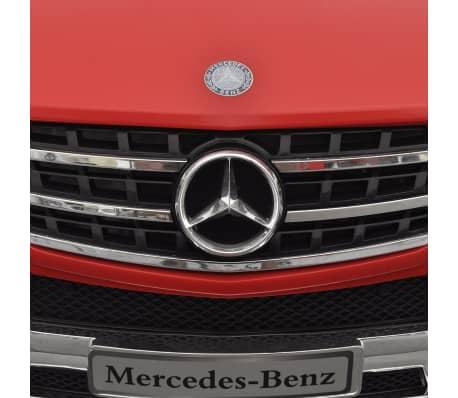 Voiture électrique 6 V avec télécommande Mercedes Benz ML350 rouge[6/7]