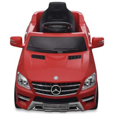 vidaXL Voiture électrique pour enfants Mercedes Benz ML350 Rouge 6 V[2/7]