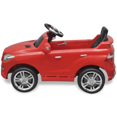 Voiture électrique 6 V avec télécommande Mercedes Benz ML350 rouge[3/7]