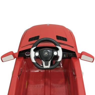 Voiture électrique 6 V avec télécommande Mercedes Benz ML350 rouge[5/7]