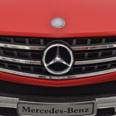 vidaXL Voiture électrique pour enfants Mercedes Benz ML350 Rouge 6 V[6/7]