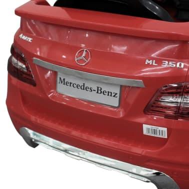Voiture électrique 6 V avec télécommande Mercedes Benz ML350 rouge[7/7]