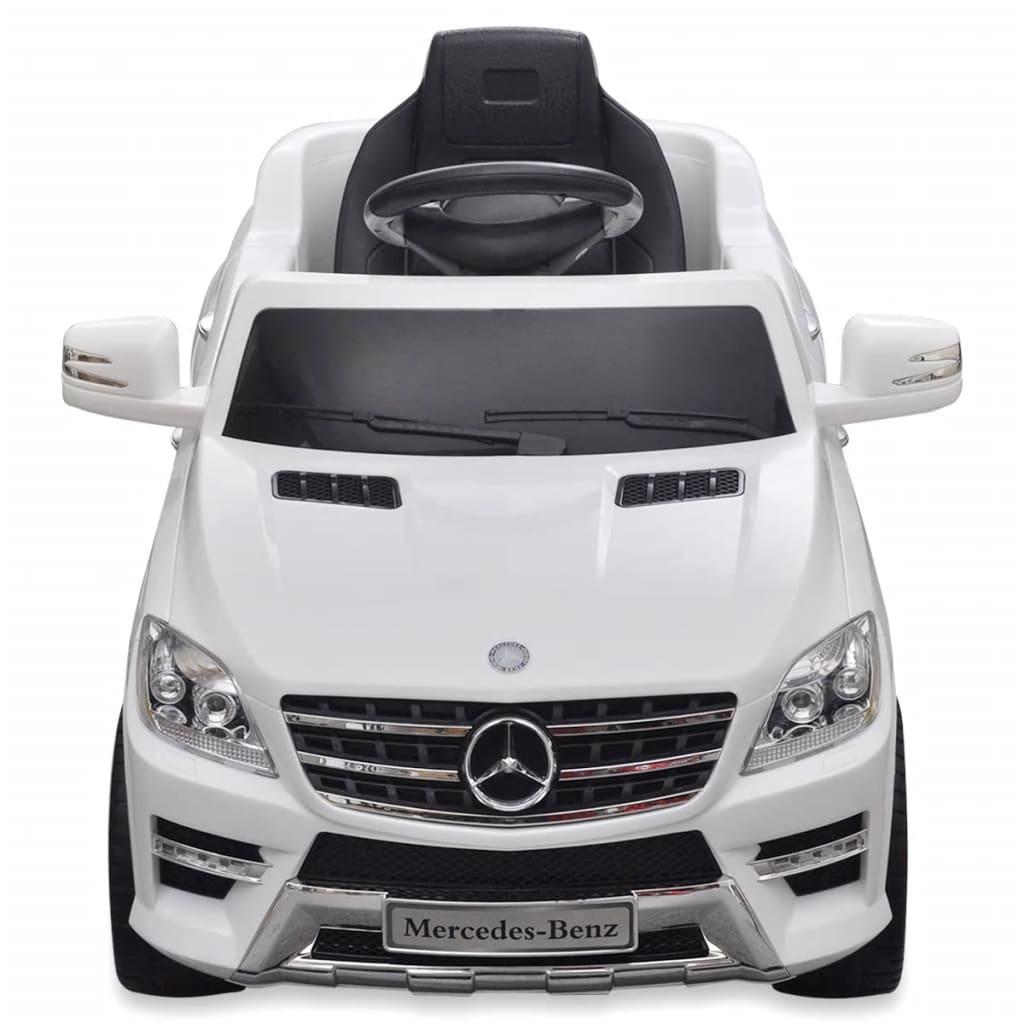 vidaXL Speelauto Mercedes Benz ML350 wit 6 V met afstandsbediening