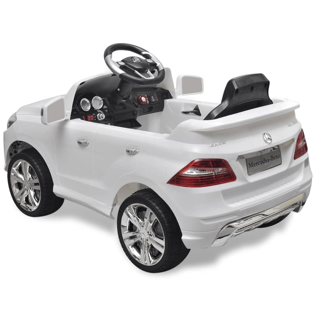 Elektrické dětské auto Mercedes Benz ML350 bílé 6 V, dálkové ovládání