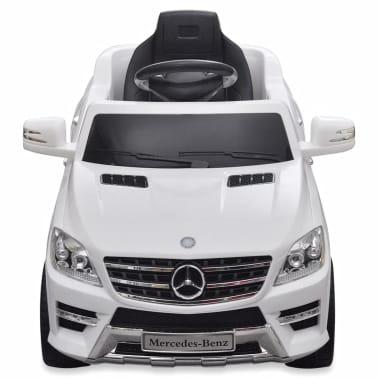 Mașină electrică Mercedes Benz ML350, cu telecomandă, 6V, alb[2/7]