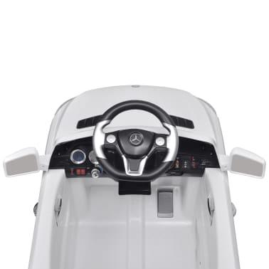 Mașină electrică Mercedes Benz ML350, cu telecomandă, 6V, alb[5/7]