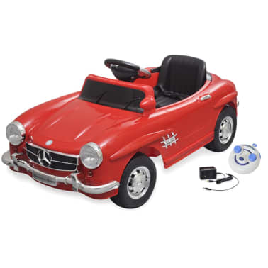 elektroauto ride on mercedes benz 300sl rot 6 v mit. Black Bedroom Furniture Sets. Home Design Ideas