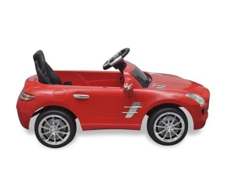 Elekriline lasteauto Mercedes Benz SLS AMG puldiga, punane[3/7]