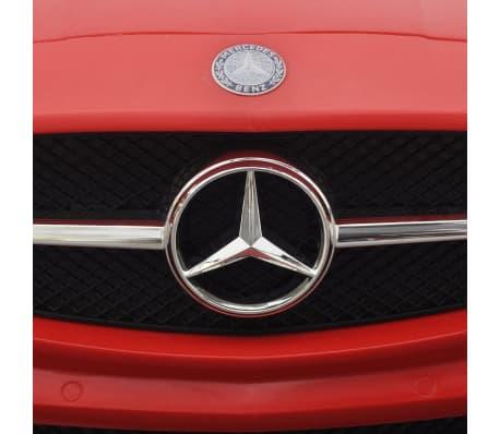 Elekriline lasteauto Mercedes Benz SLS AMG puldiga, punane[6/7]